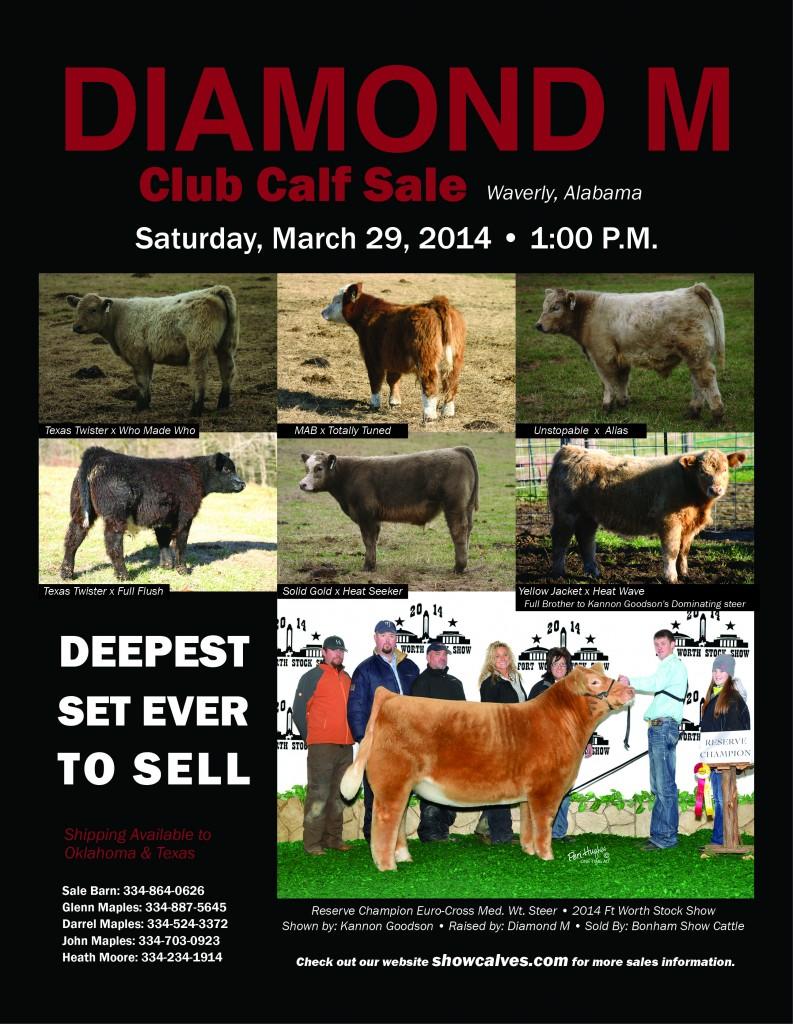 Diamond M March 14