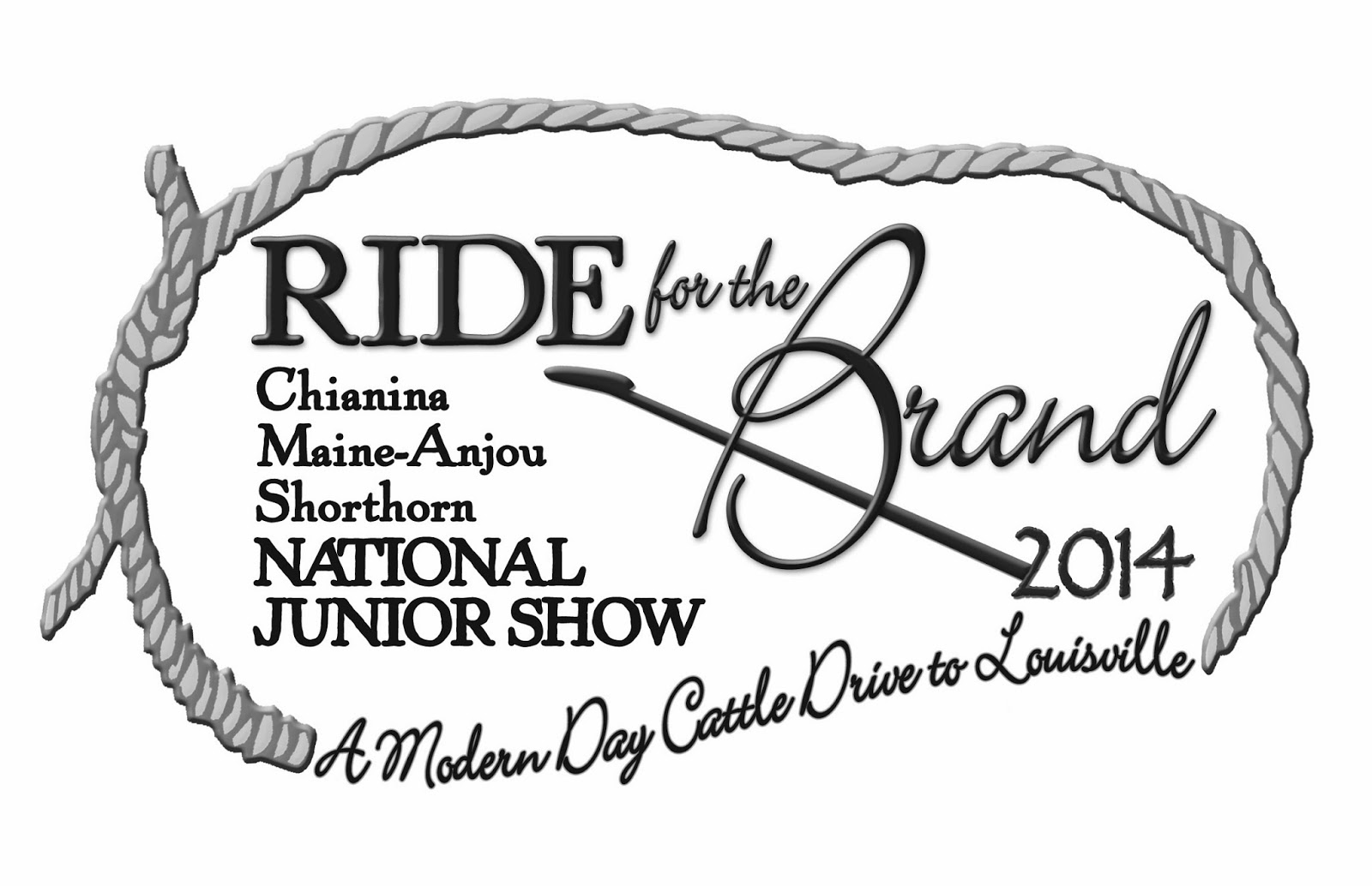 Ride for The Brand 2014 Logo-BW