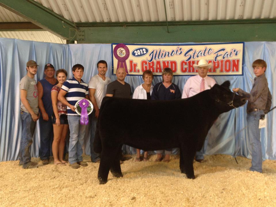 Weber_Grand steer_2012 Illinois State Fair_Open Show_2