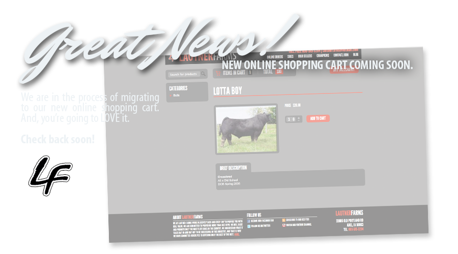 Lautner Farms Online Shopping