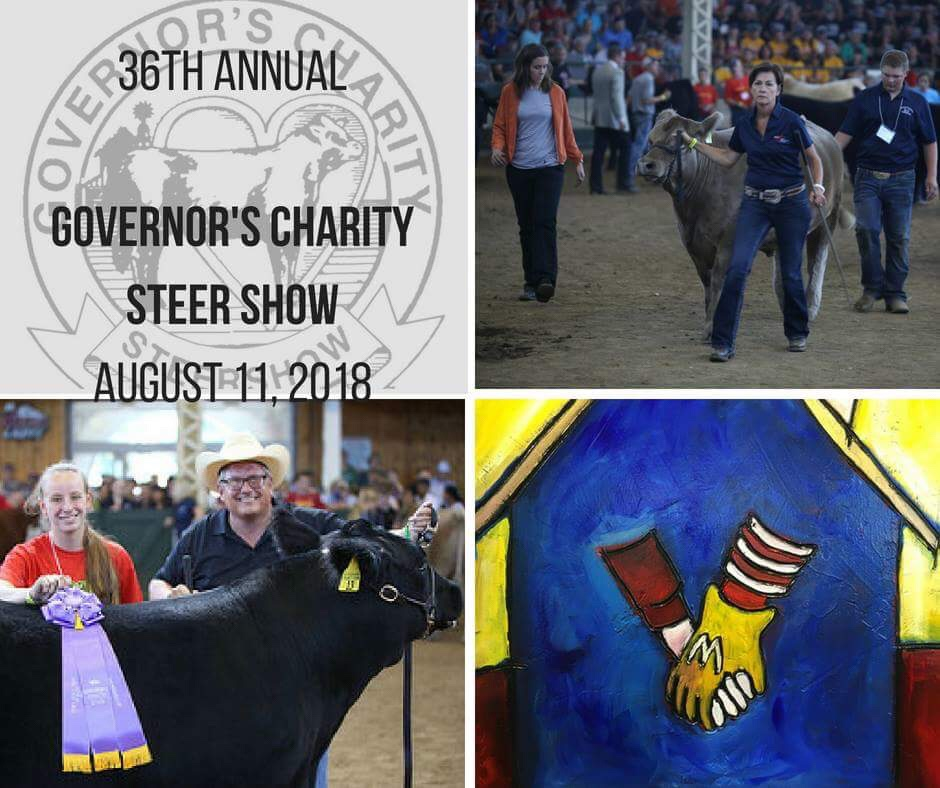The ISF Governor's Steer Show is closely approaching